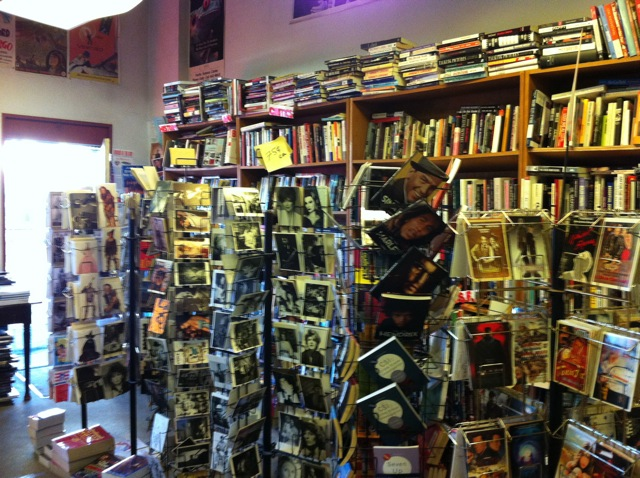 Cinema Books, Roosevelt Way, Seattle, owned by Stephanie Ogle