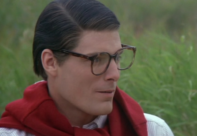 "Christopher Reeve as Clark Kent in ""Superman III,"" 1983"