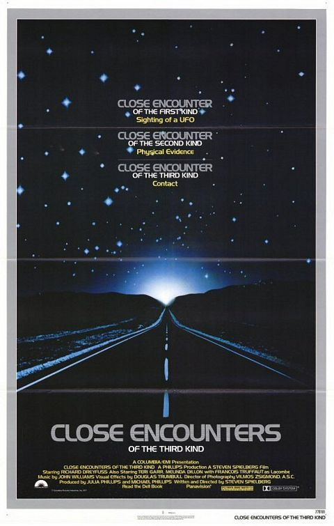 "Original poster for ""Close Encounters of the Third Kind"" (1977)"