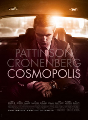 "David Cronenberg's ""Cosmopolis"" (2012, starring Robert Pattinson"