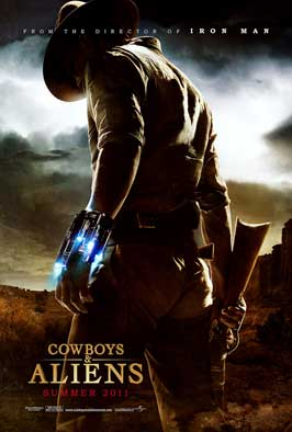 "Movie poster for ""Cowboys & Aliens"" (2011)"