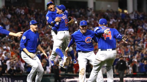 Cubs win first championship in 108 years