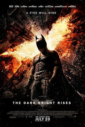 "poster for ""The Dark Knight Rises"" (2012)"