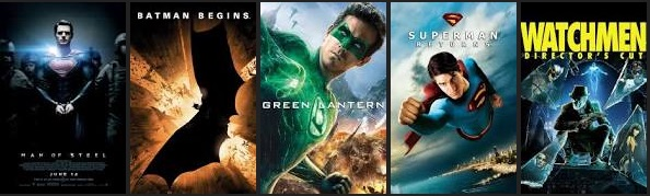 DC comics superhero movies ranked