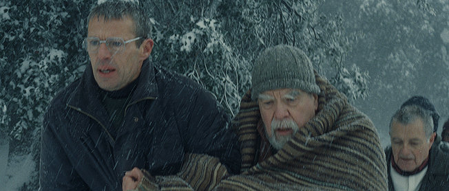 "The final scenes in ""Of God and Men"": ""Des hommes et des dieux"" (2010)"