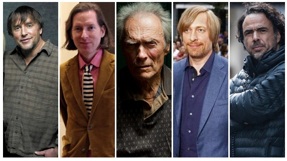 2014 DGA nominees: Anderson, Eastwood, Linklater, Inarritu and Tyldum