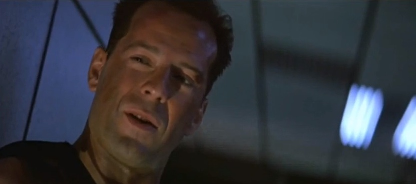 Die Hard with a smirk: Bruce Willis as John McClane