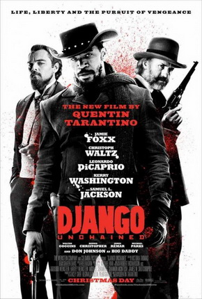 "Poster for Quentin Tarantino's ""Django Unchained"" (2012)"