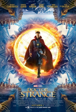 Doctor Strange with Benedict Cumberbatch