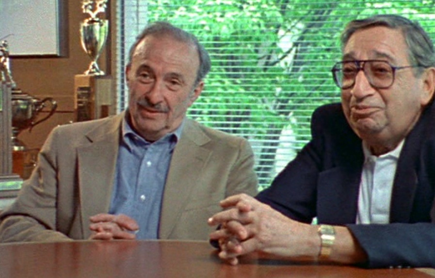 "Don Shapiro and Bert Cohen in ""The Life and Times of Hank Greenberg"" (2000)"