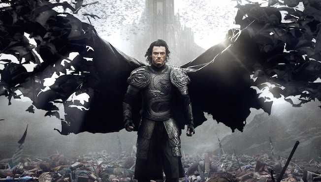 Dracula Untold poster: straight out of Batman Begins