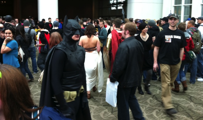 The Dark Knight, Batman, at the ECCC 2012