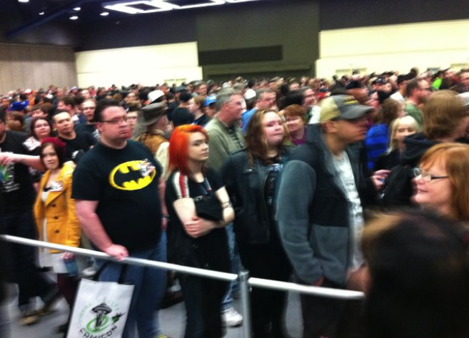 The crowds at the Emerald City Comic Convention 2012