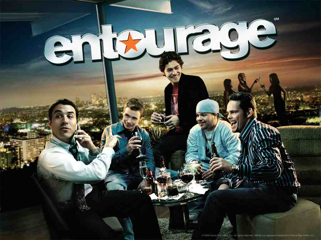 "promo poster for the first season of ""Entourage"""
