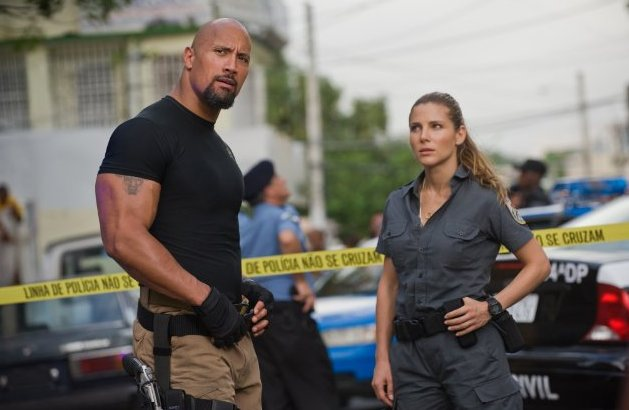 "The Rock in ""Fast Five"" (2011)"