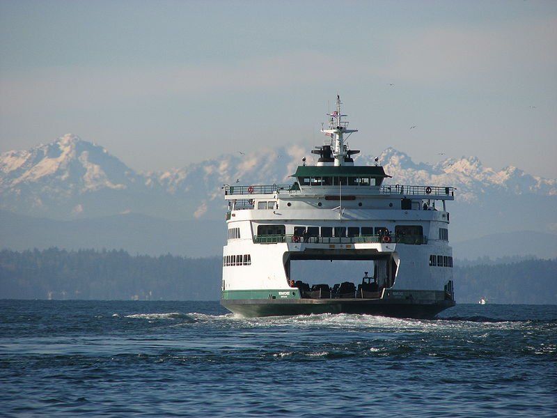 Wenatchee Ferry (Seattle to Bainbridge Island)