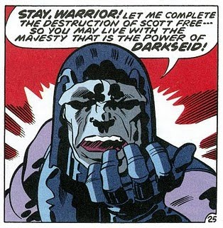 The power of Darkseid!