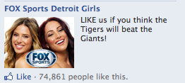 FOX Sports Detroit Girls: LIKE us