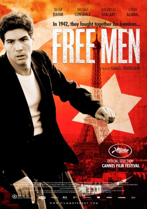 "Poster for ""Free Men"" (U.S.)"