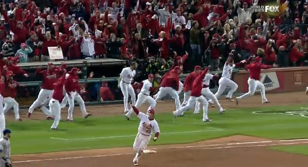David Freese World Series home run