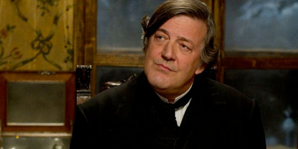 Stephen Fry as Mycroft Holmes