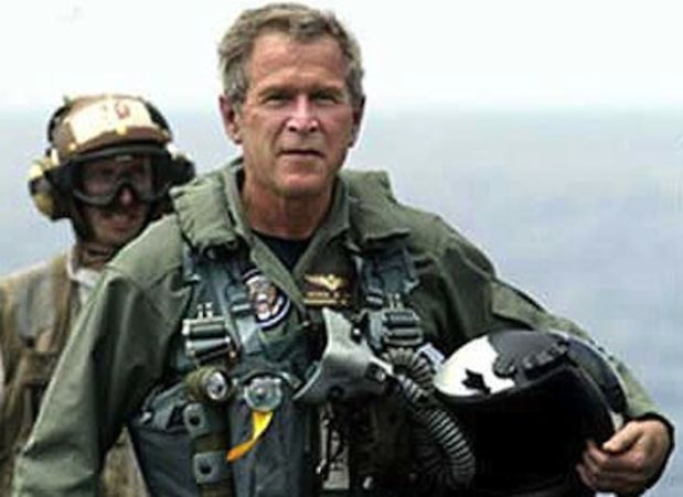 George W. Bush flight suit: Mission Accomplished