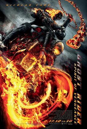 "Poster for ""Ghost Rider 2: Spirit of Vengeance"" (2012)"