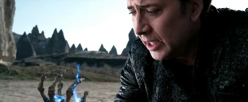 "Nic Cage, Hack for Hire in ""Ghost Rider 2"""