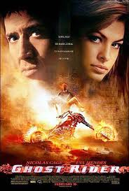 "poster for ""Ghost Rider"""