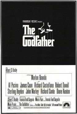 "original poster for ""The Godfather"" (1972)"