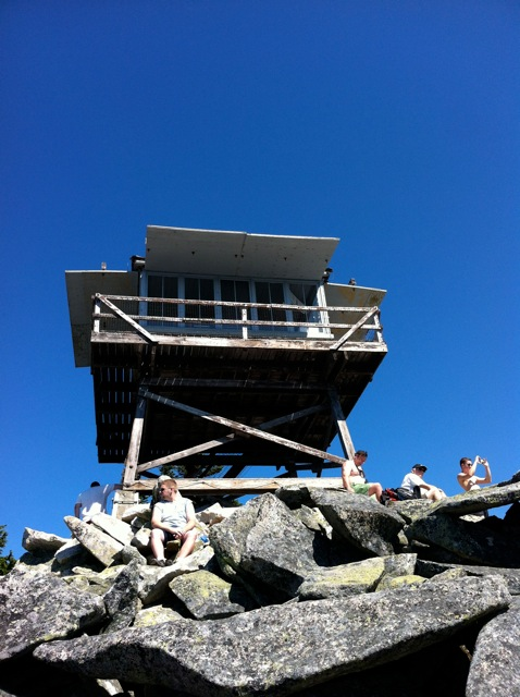 The outpost on Granite Mountain