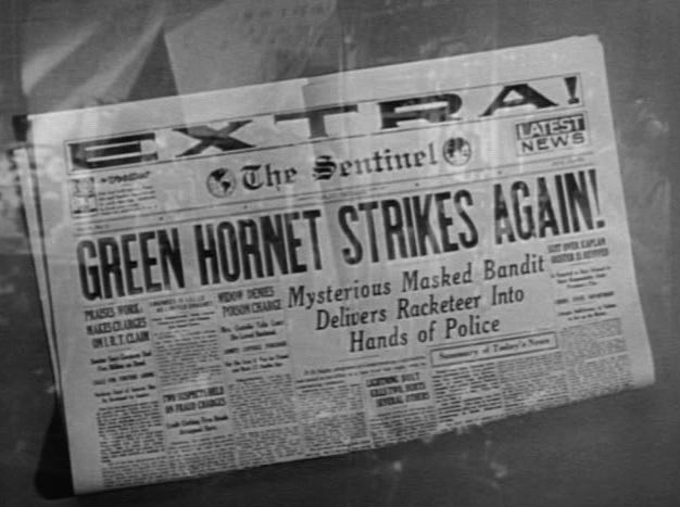 Green Hornet Strikes Again