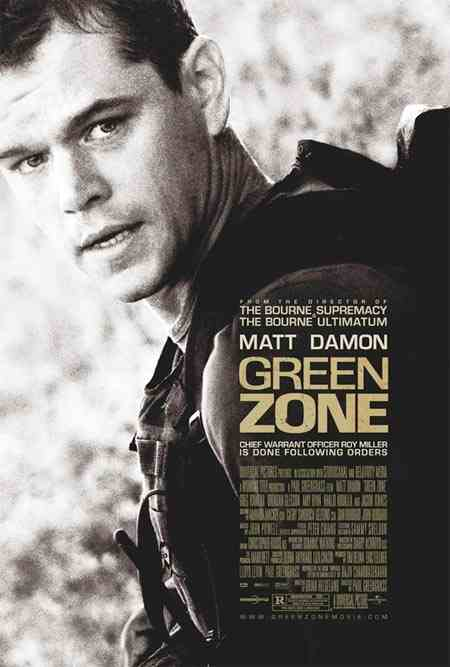 """The Green Zone"" starring Matt Damon"