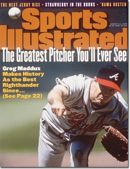 Greg Maddux, Sports Illustrated