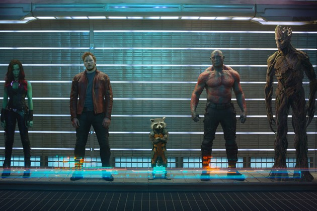 Guardians of the Galaxy — number one movie of the year