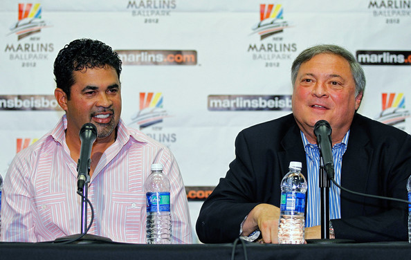 Ozzie Guillen, Jeff Loria, Miami Marlins