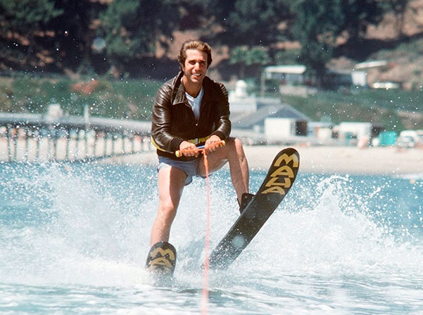 Happy Days: Fonzie jumps the shark