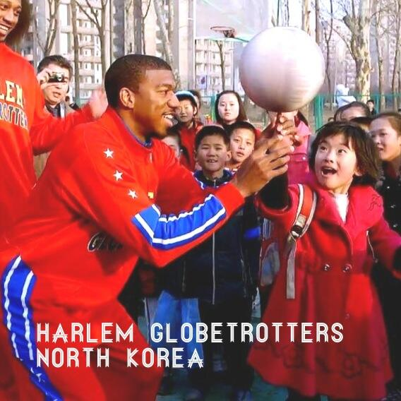 Harlem Globetrotters in North Korea