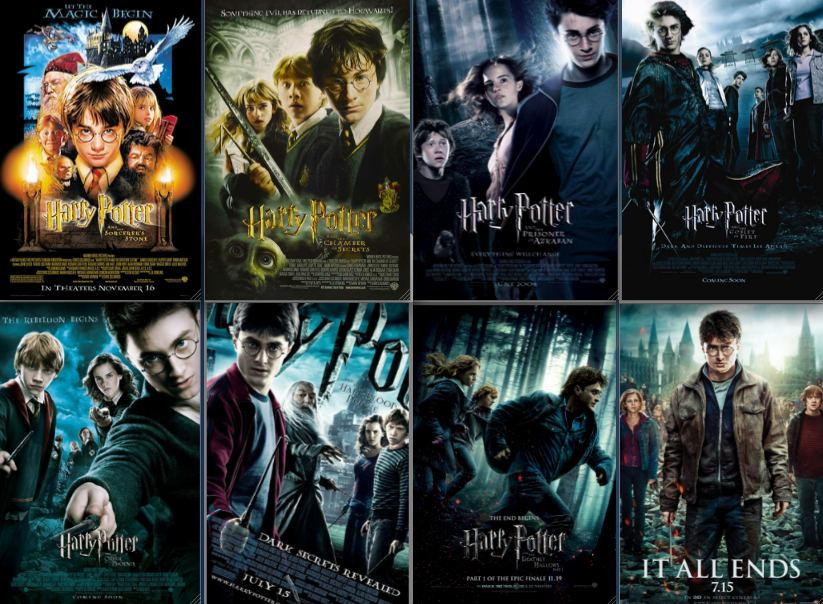 All the Harry Potter Posters
