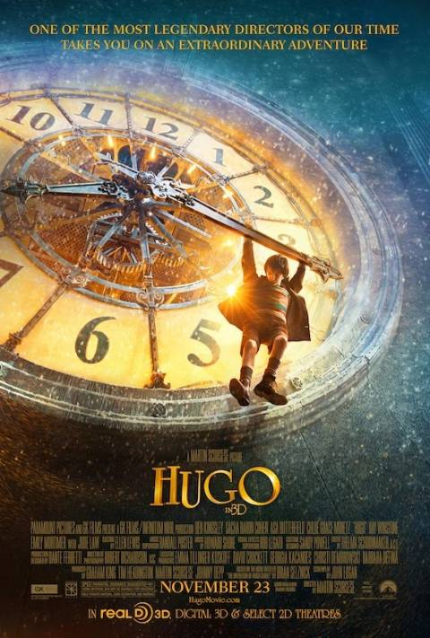 "Poster for Martin Scorsese's ""Hugo"" (2011)"