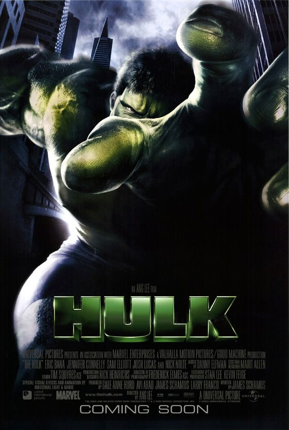 "Poster for Ang Lee's ""Hulk"" (2003)"