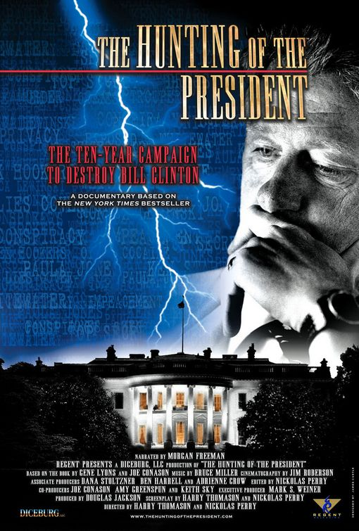 """The Hunting of the President"" poster"