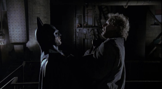 "The ""I'm Batman"" scene from Tim Burton's ""Batman"" (1989)"