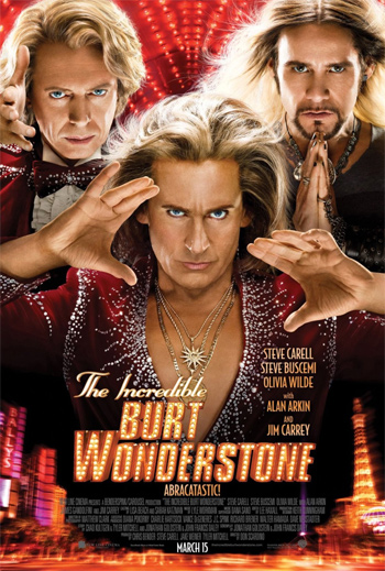 "poster for ""The Incredible Burt Wonderstone"" review"