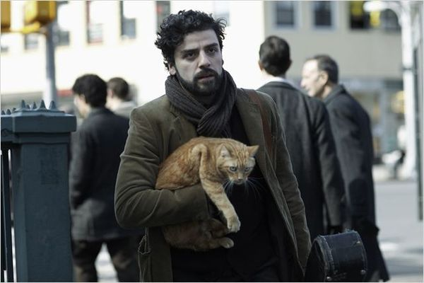 Llewyn Davis and cat