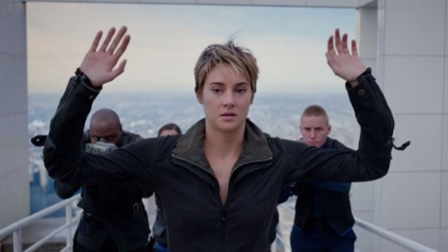 Insurgent with Shailene Woodley