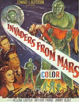 "Poster for ""Invaders from Mars"" (1953)"