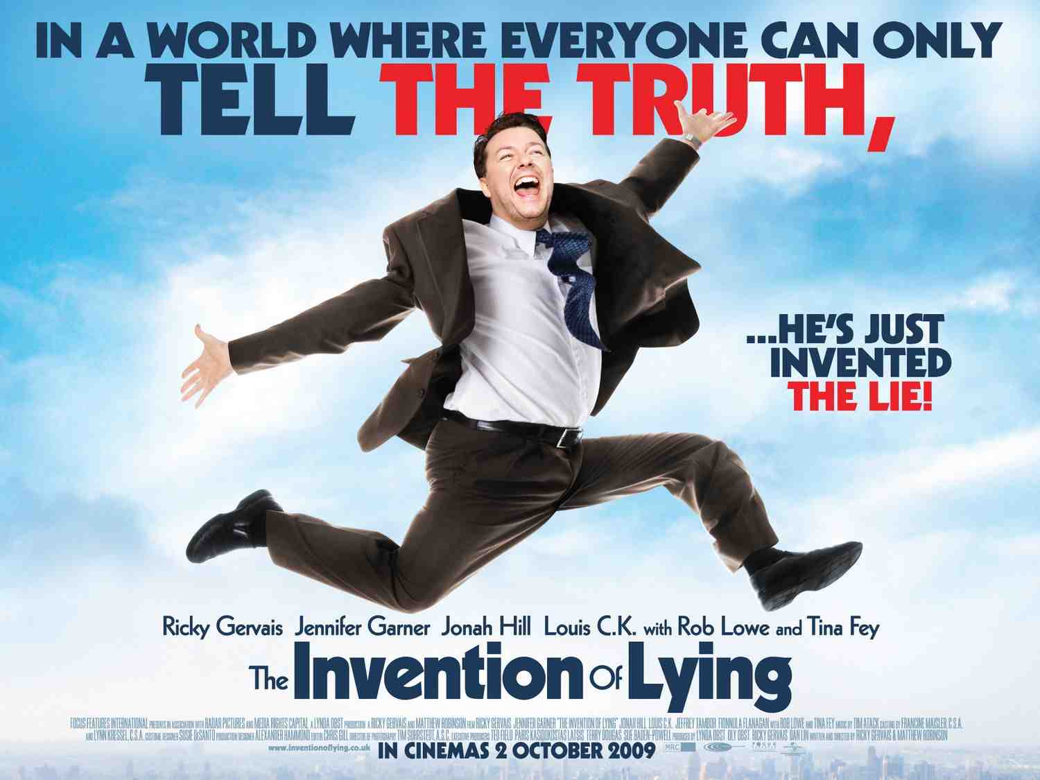 The Invention of Lying poster - UK