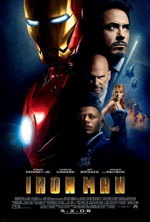 "poster for ""Iron Man"" (2008)"