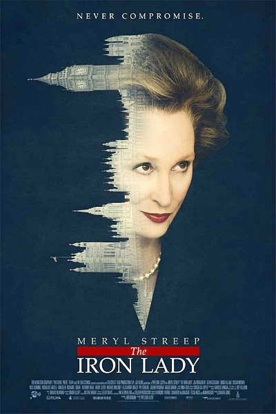 "poster for ""The Iron Lady"" (2011)"